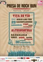 Festivalul Presa de Rock Bun 2013 la Bucureşti
