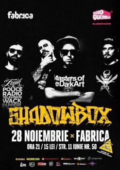 Concert Shadowbox în Club Fabrica din Bucureşti