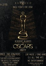New Year's Eve 2014 Academic Awards – The Oscars Party în Barocco Bar din Bucureşti