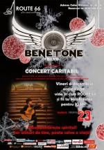 Concert caritabil Benetone Band în Route 66 Club din Bucureşti