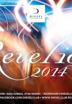 Revelion 2014 în Diesel Club din Bucureşti