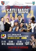 Revelion 2014 în Piaţa 25 Octombrie din Satu Mare