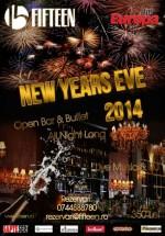 New Years Eve 2014 la Fifteen Restaurant & Pub din Bucureşti