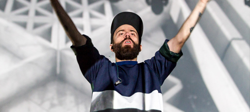 POZE: Woodkid la Transformation Event by ABSOLUT la Bucureşti