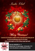 Merry Christmas în Indie Club din Bucureşti