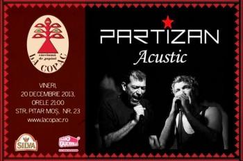 Concert Artan şi Suedezu în La Copac din Bucureşti