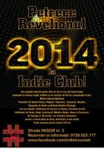 Revelion 2014 în Indie Club din Bucureşti