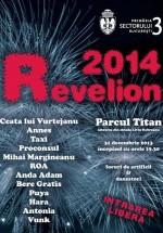 Revelion 2014 în Parcul Titan din Bucureşti