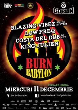 Burn Babylon în Club Goblin din Bucureşti