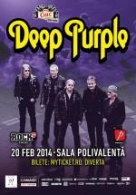 Concert Deep Purple la Sala Polivalentă din Bucureşti
