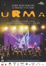 """Concert URMA – """"Lost end Found"""" la Teatrul Naţional din Cluj-Napoca"""