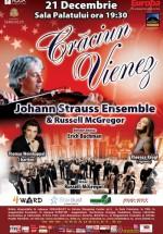 Crăciun Vienez – Johann Strauss Ensemble & Russell McGregor la Sala Palatului din Bucureşti