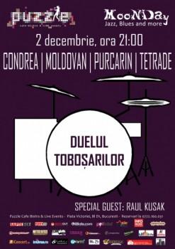 Duelul Toboşarilor în Club Puzzle din Bucureşti