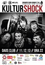 Concert Kultur Shock în Daos Club din Timişoara