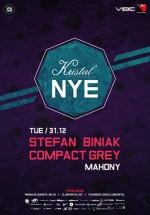 NYE 2014 Party la Kristal Glam Club din Bucureşti