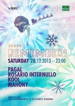 Remember! în Space Club din Bucureşti