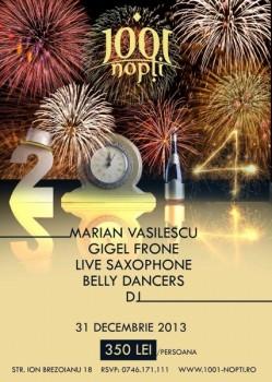 Revelion 2014 în 1001 nopţi din Bucureşti