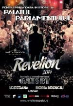 Revelion 2014 la Palatul Parlamentului din Bucureşti