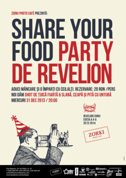 Revelion 2014 – Share your food în Zorki Photo Cafe din Cluj-Napoca