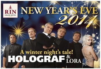 Revelion 2014 la RIN Grand Hotel din Bucureşti