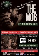 Live Music cu The Mob în The Drunken Lords din Bucureşti