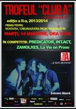 Concerte Predicator, Int.Act, Zamolxes şi La Vie en Prose în Club A din Bucureşti
