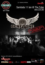 Concert Benetone Band în The Tube din Bucureşti