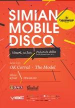 Simian Mobile Disco la Palatul Ghika din Bucureşti