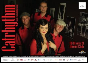 Concert Catrhythm în Diesel Club din Cluj-Napoca