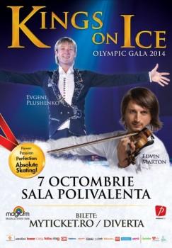 Kings on Ice Olympic Gala 2014 la Bucureşti