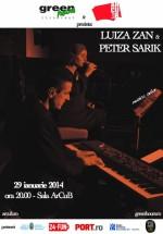 Concert Luiza Zan şi Peter Sarik la Sala ArCuB din Bucureşti