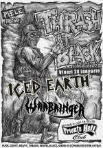 "Iced Earth Warm-up Party – ""Trash it black"" în Private Hell Club din Bucureşti"