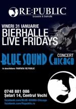 Concert Blue Sound Chicago în RE:PUBLIC din Bucureşti