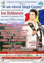 """""""M-am născut lângă Carpaţi"""" – spectacol In Memoriam Ion Dolănescu la Sala Palatului din Bucureşti"""
