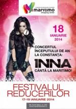 Concert INNA la Maritimo Shopping Center din Constanţa
