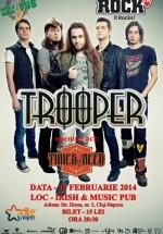 Concert Trooper în Irish Music & Pub din Cluj-Napoca