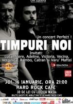 Concert Timpuri Noi în Hard Rock Cafe din Bucureşti (CONCURS)