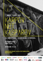 Concert Karpov Not Kasparov în Question Mark din București