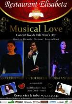 Musical Love la Restaurant Elisabeta din Bucureşti