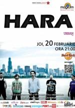 Concert Hara în Hard Rock Cafe din Bucureşti
