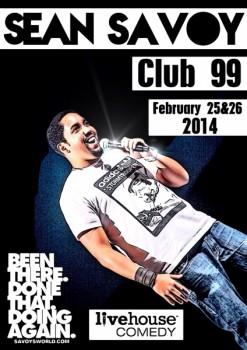 Sean Savoy în Club 99 din Bucureşti