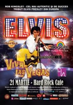 """Concert Rob Kingsley – """"Viva Las Vegas"""" în Hard Rock Cafe din Bucureşti"""