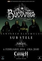 """Concert Bucovina – lansare album """"Sub Stele"""" în The Silver Church din Bucureşti"""