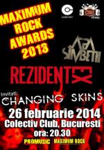Maximum Rock Awards 2013 în Colectiv din Bucureşti