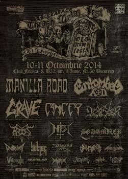 Romanian Thrash Metal Fest 3rd Edition – Old Grave Fest 2014