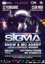 Sigma în Club Midi din Cluj-Napoca