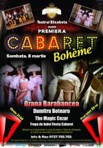 Cabaret Boheme la Teatrul Elisabeta din Bucureşti