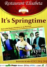 Concert Aylin Cadîr – It's Springtime la Restaurant Elisabeta din Bucureşti