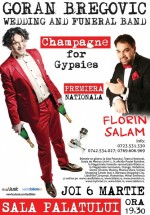Concert Goran Bregovic şi Florin Salam la Sala Palatului din Bucureşti