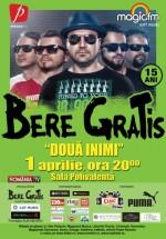"""Concert Bere Gratis – """"Două inimi"""" la Sala Polivalentă din Bucureşti"""